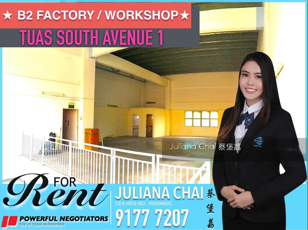 Tuas South Avenue 1