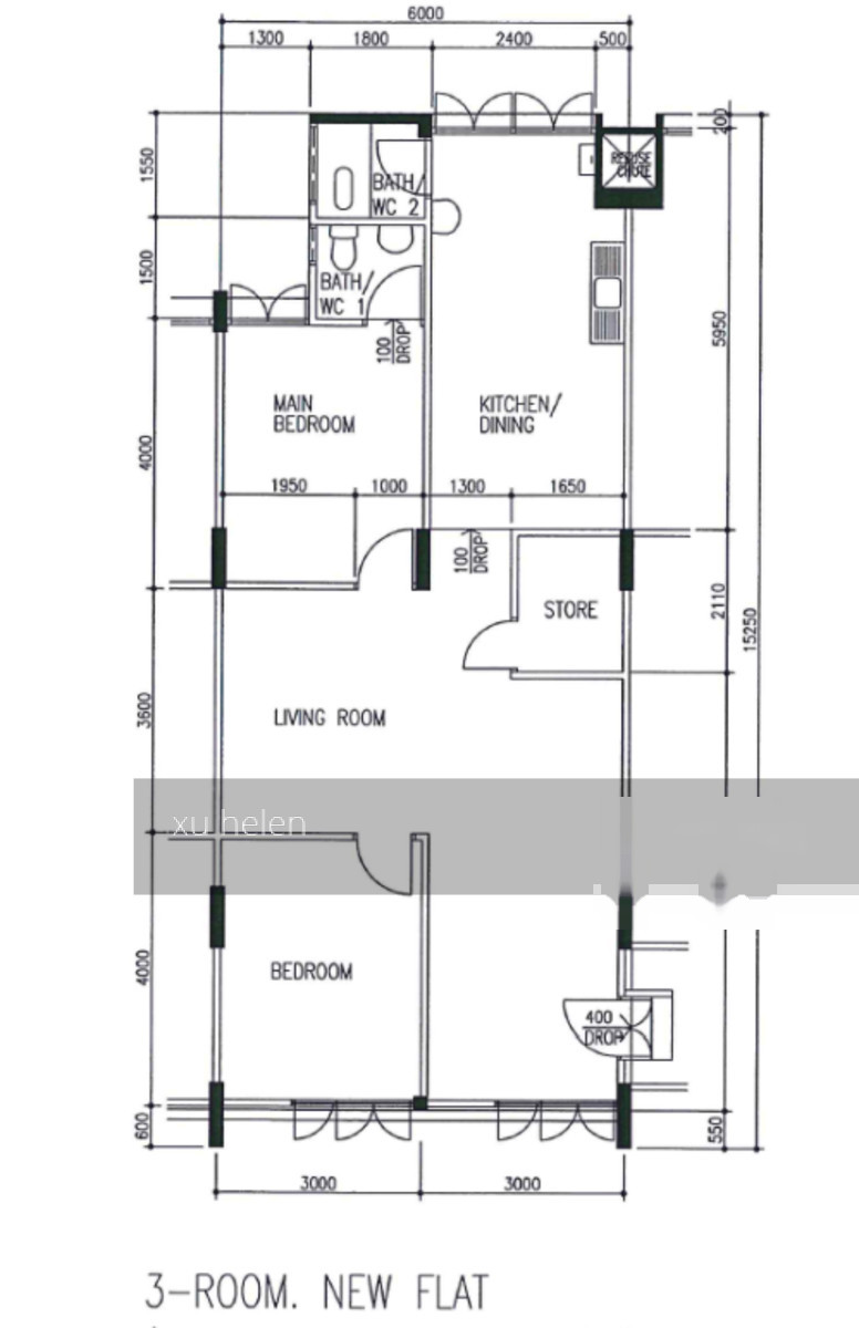 Yishun Greenwalk BTO Floor Plan DBSS - Casa Clementi Floor Plan