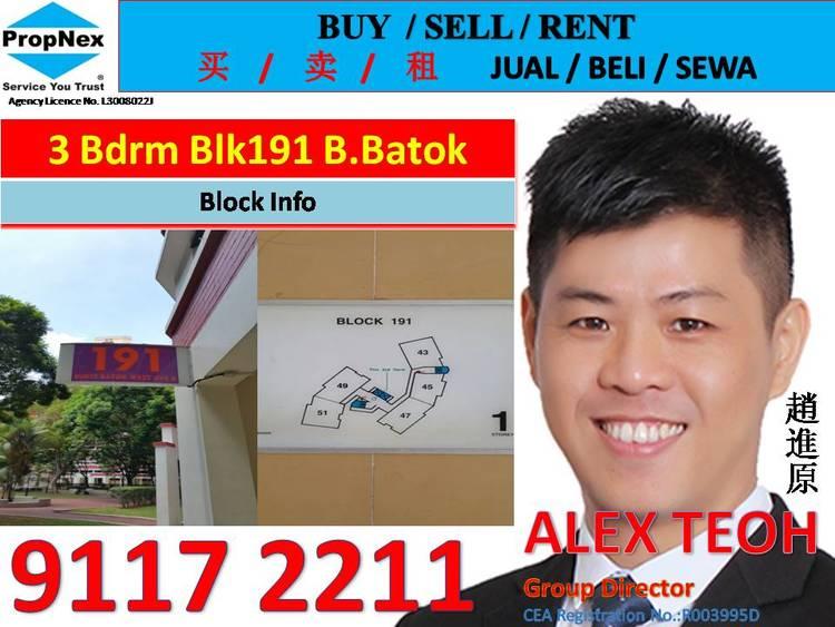 191 Bukit Batok West Avenue 6