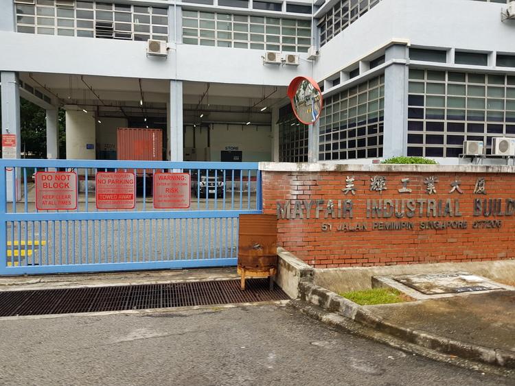 Mayfair Industrial Building
