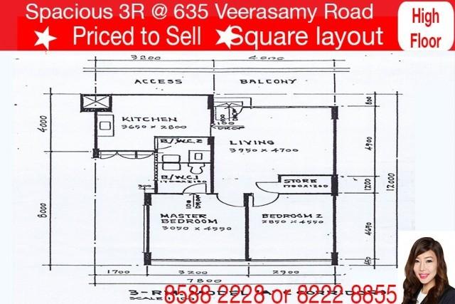 635 Veerasamy Road
