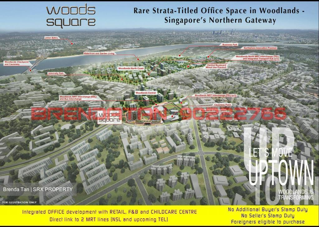 Woods Square (D25), Office #158136942