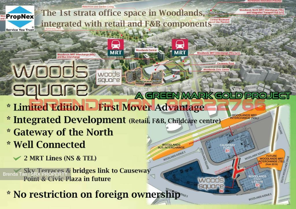 Woods Square (D25), Office #158136952