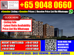 Marina One Residences (D1), Apartment #169833192