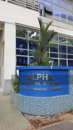 Alpha Industrial Building