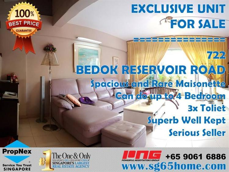 722 Bedok Reservoir Road