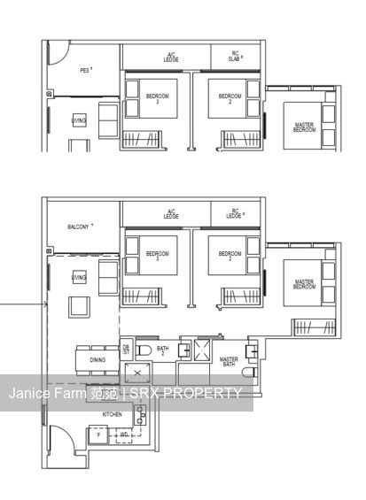 Riverfront Residences (D19), Apartment #175132492