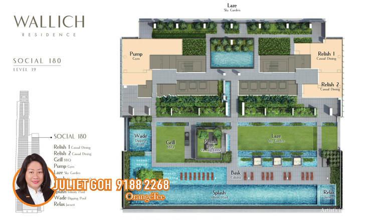 Wallich Residence At Tanjong Pagar Centre