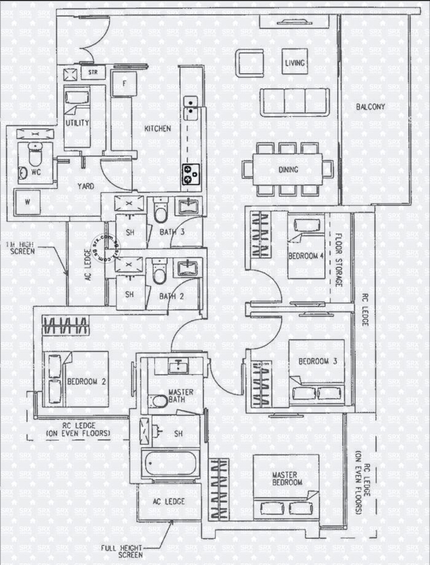 H2O Residences