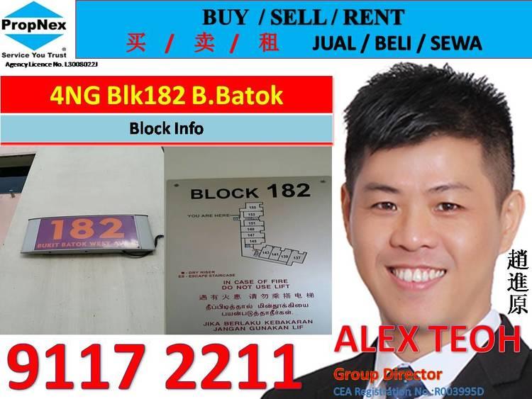182 Bukit Batok West Avenue 8
