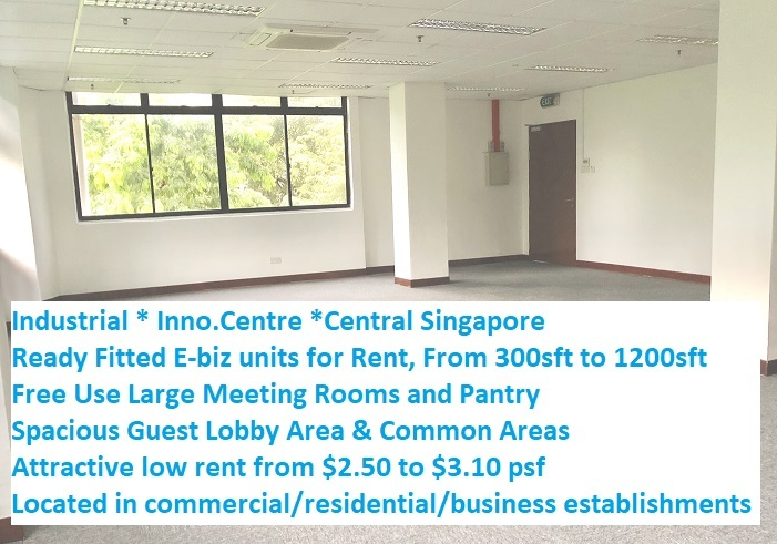 Industrial Light Industrial B1 For Rent, Singapore Industrial