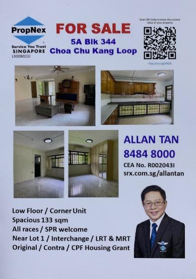344 Choa Chu Kang Loop