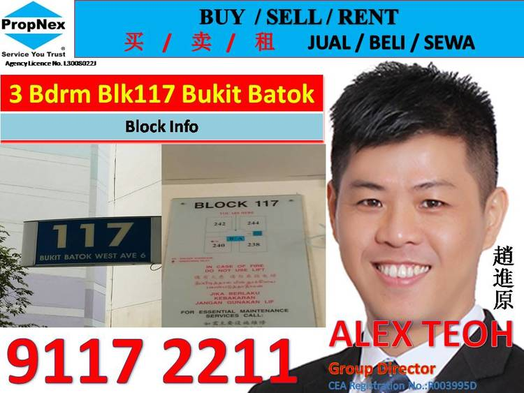 117 Bukit Batok West Avenue 6