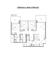 Fourth Avenue Residences (D10), Apartment #191490012