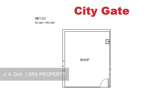 City Gate (D7), Retail #198000222