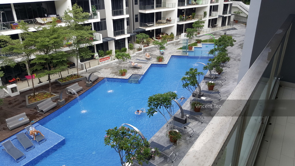 Waterscape at Cavenagh