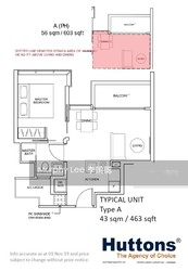 Wilshire Residences (D10), Apartment #220831251