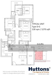 Wilshire Residences (D10), Apartment #220846351