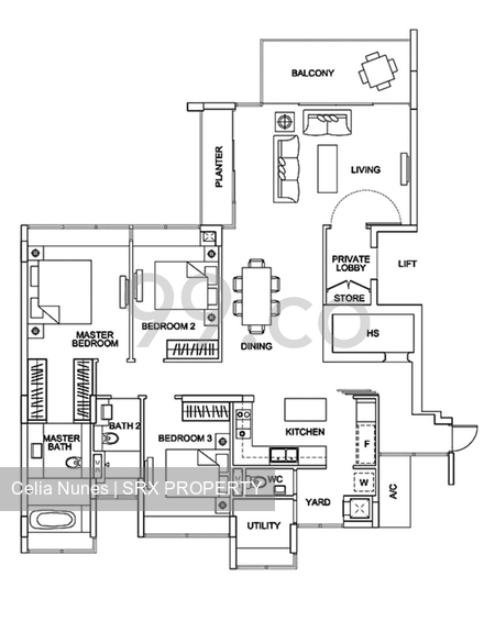 The Fernhill (D10), Apartment #232021521