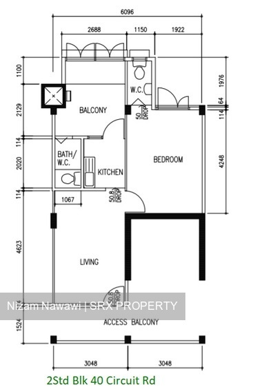 Blk 40 Circuit Road (Geylang), HDB 2 Rooms #258016081