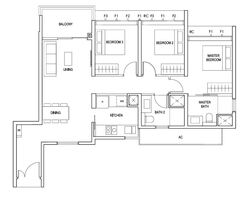 Penrose (D14), Apartment #254609531