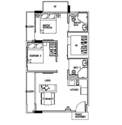 24 One Residences (D5), Apartment #255759061