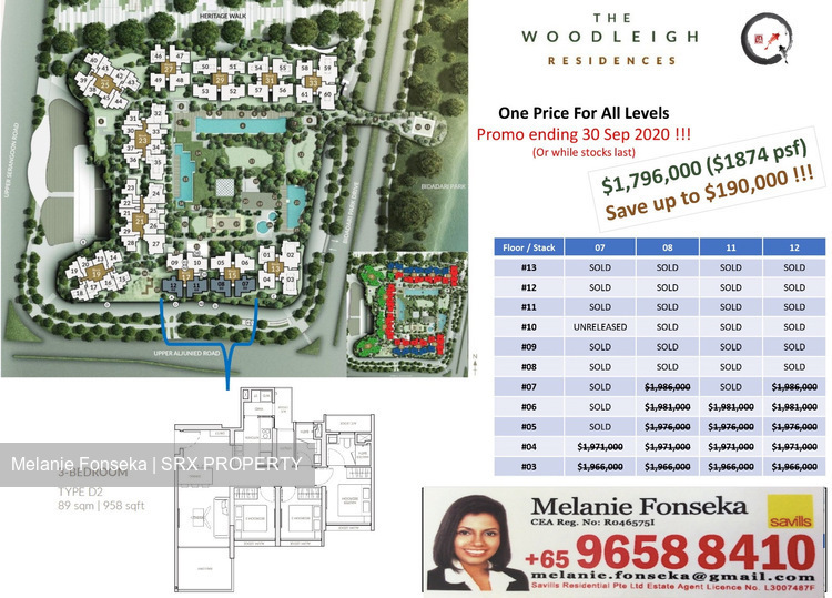 The Woodleigh Residences (D13), Apartment #256288511