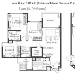 Blk 348A Adora Green (Yishun), HDB 4 Rooms #272063811