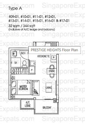 Prestige Heights (D12), Apartment #261121281