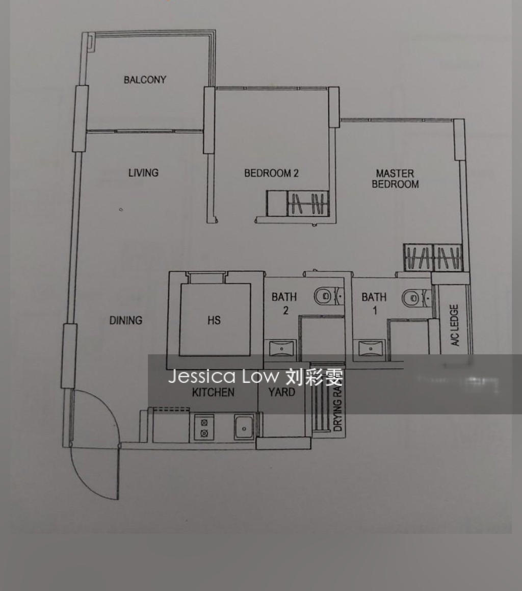 Blk 520A Centrale 8 At Tampines (Tampines), HDB 3 Rooms #267131341