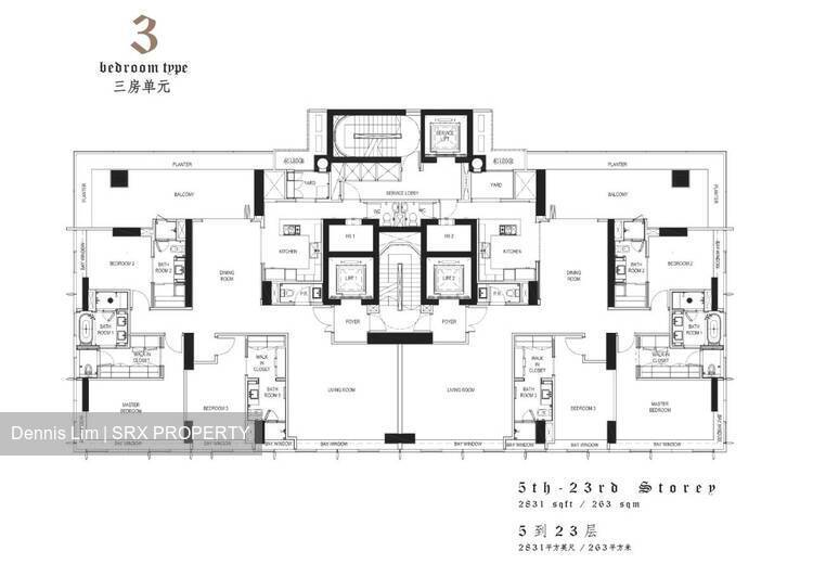 The Ritz-Carlton Residences (D9), Apartment #269334141