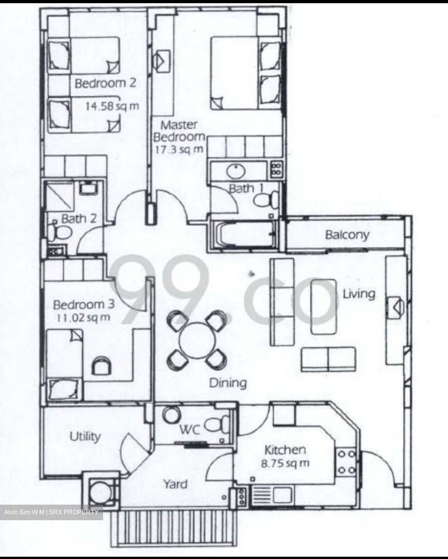 Estella Gardens D17 Condominium For Sale 91202711