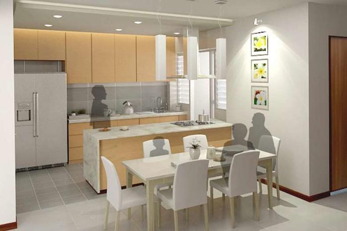Bto Flat Buyers Opt For Open Kitchens