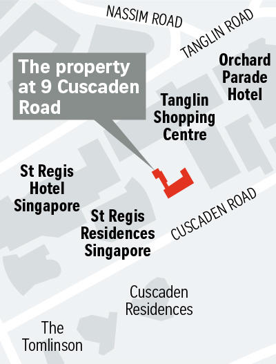 SRX Gambling tycoon Stanley Ho Map