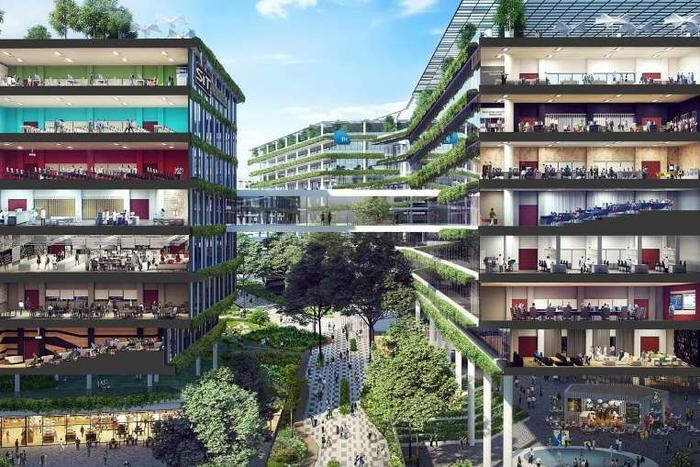 Punggol North: enterprise district with new urban concepts