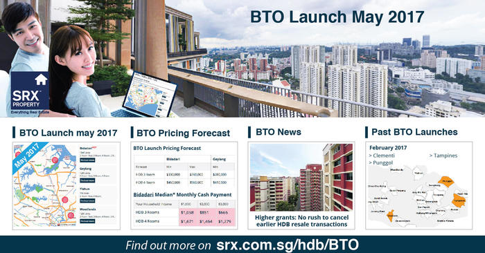 8,748 new BTO flats in Bidadari, Geylang, Woodlands, and Yishun