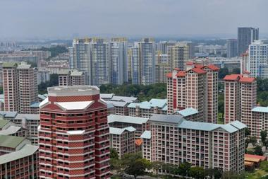 HDB resale price fall not seen derailing recovery