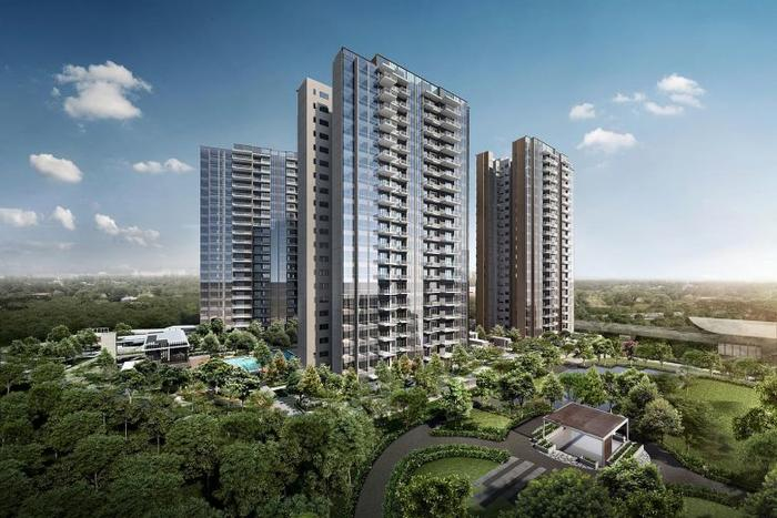 Developers sold 230 homes at Parc Botannia in Sengkang