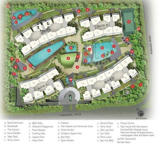 Estuary Apartment Building Numbers