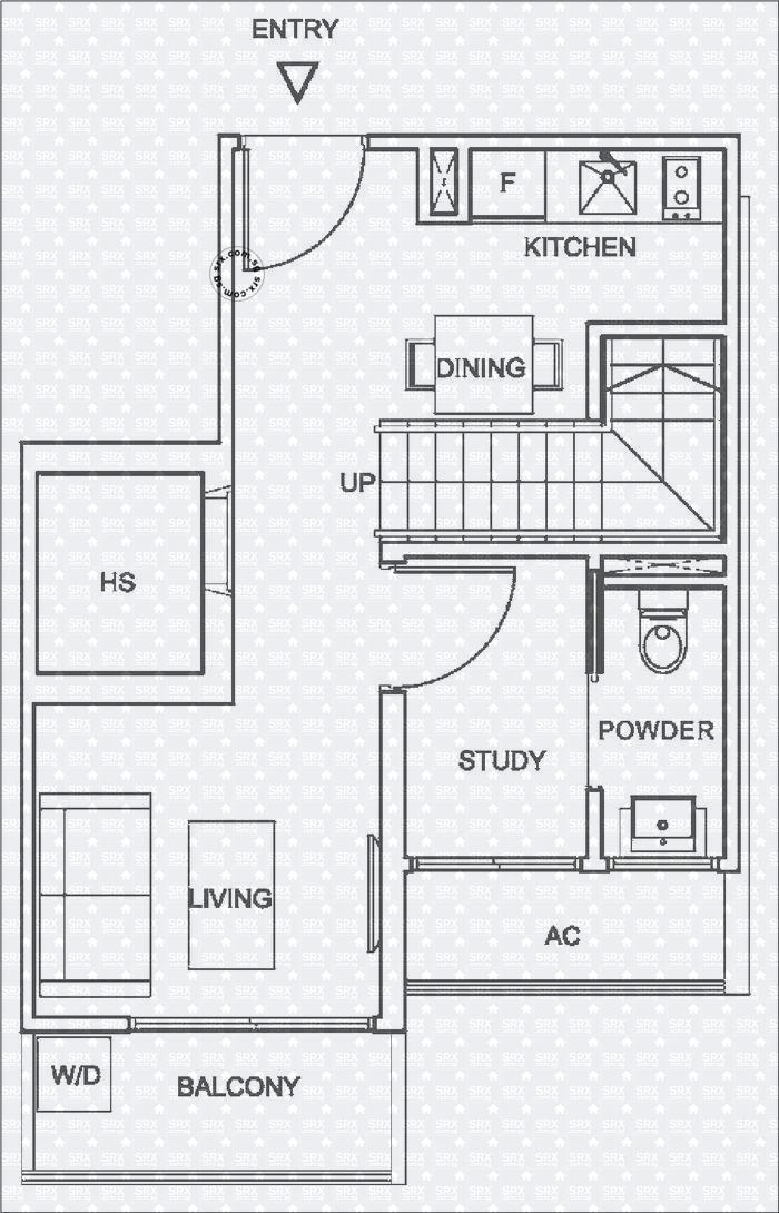 Floor Plans For 10 Shelford Condo Srx Property