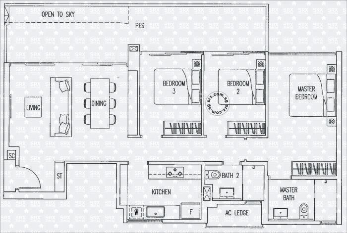 Boat House Plans | Floor Plans For Boathouse Residences Condo Srx Property