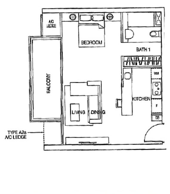 One-north Residences (D5), Apartment #1267