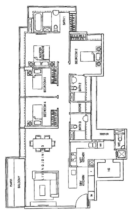 One-north Residences (D5), Apartment #1270