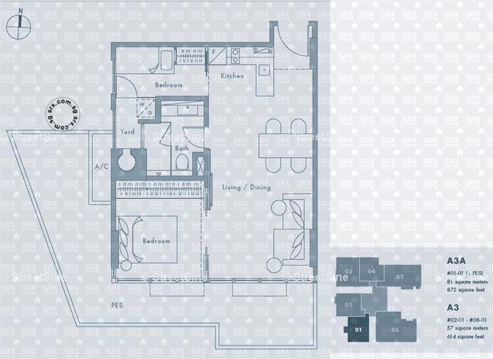 Floor Plans For The Montana Condo Srx Property