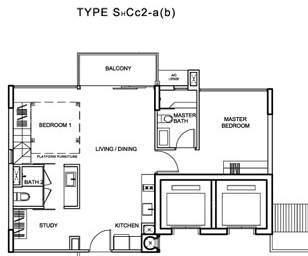 Watertown (D19), Apartment #8321