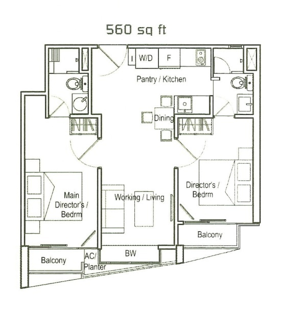 Soho 188 (D8), Apartment #2445