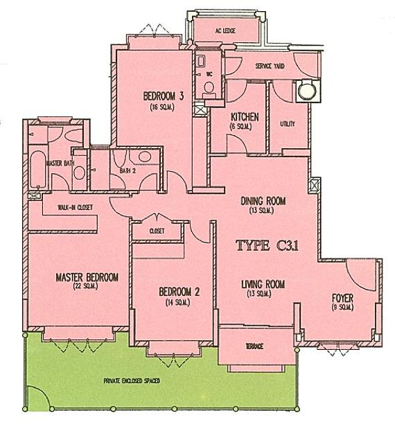 Costa Rhu D15 Condominium For Sale 90536951