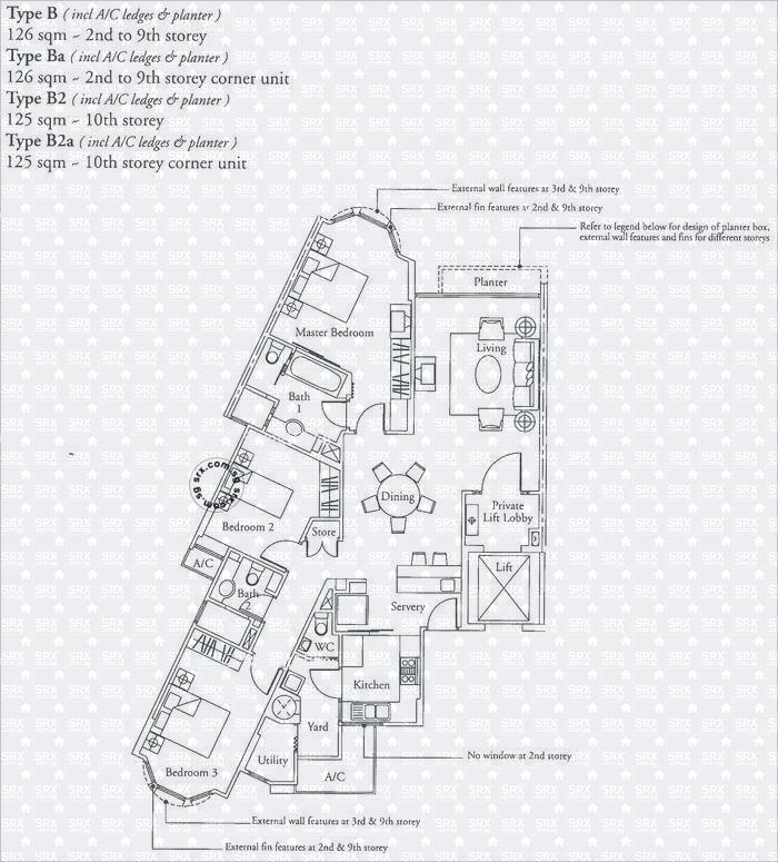 Hillington green d23 condominium for rent 74386062 for Green floor plans