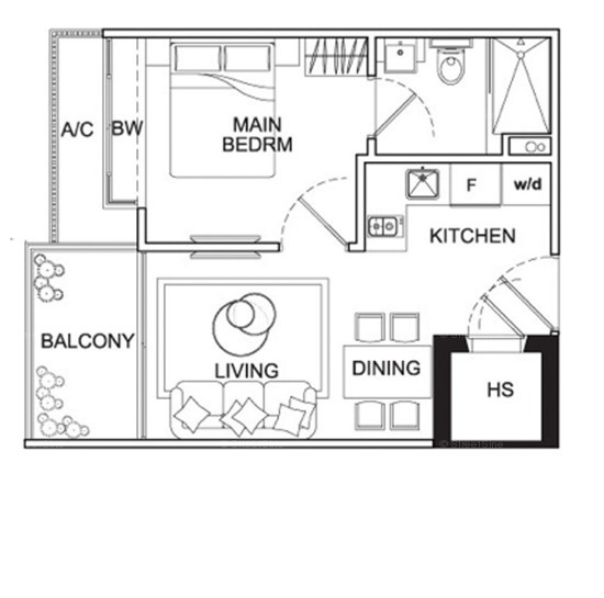 Mackenzie 88 (D9), Apartment #1720