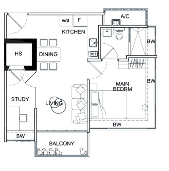 Mackenzie 88 (D9), Apartment #1721